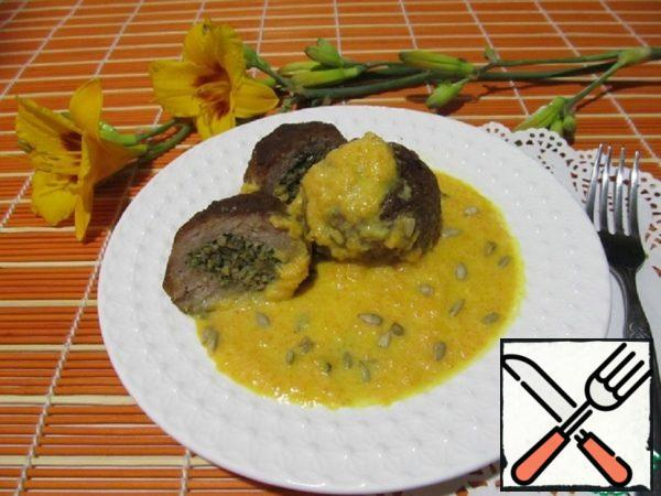 Meatballs with Carrot Puree Recipe