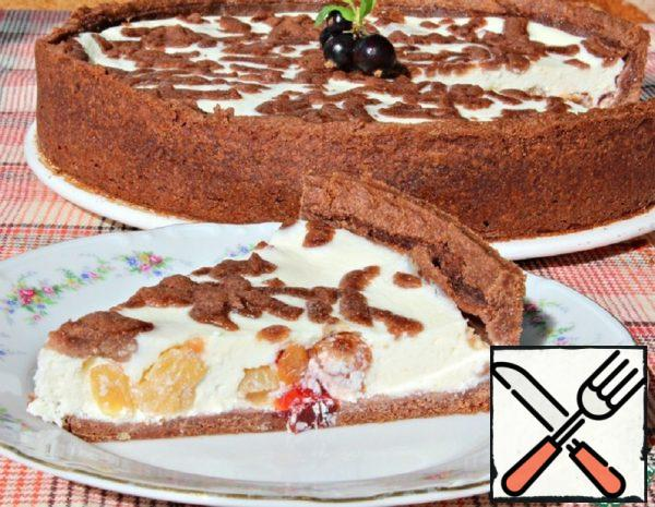 Cottage Cheese Pie with Dried Fruit Recipe