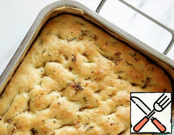 Focaccia with Rosemary and Garlic Recipe