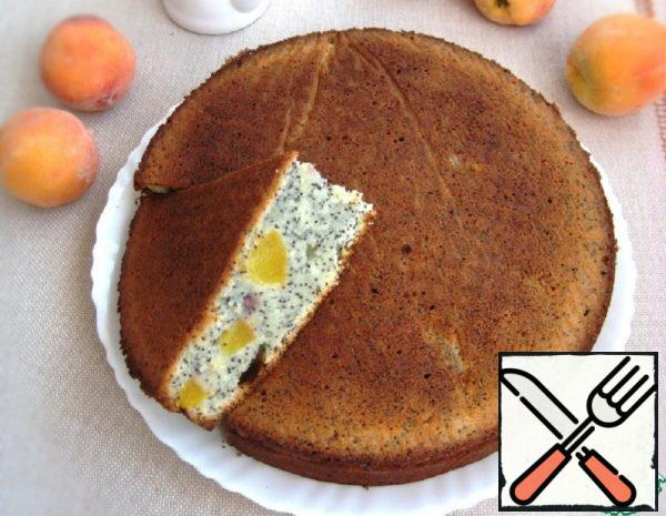 Poppy Seed Pie with Peaches Recipe