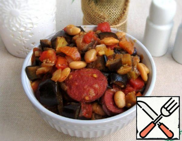 Vegetable Stew with Hunting Sausages Recipe