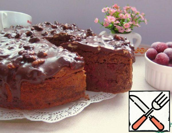 "Cake ""Drunk Cherry"" Recipe"