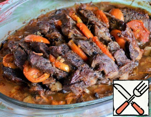 """Beef with Vegetables """"Summer"""" Recipe"""