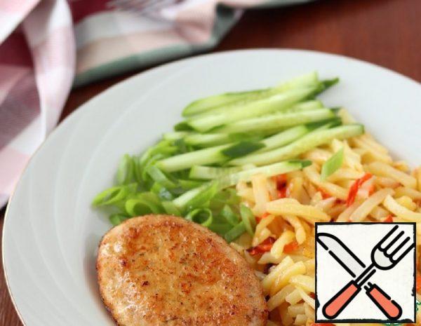Chicken Breast Fillet Cutlets Recipe