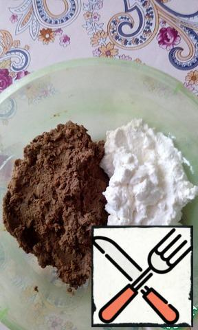 Combine the pate and ricotta. Mix thoroughly