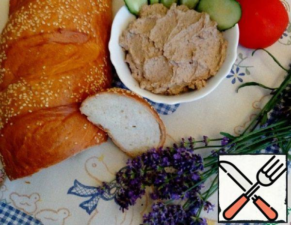 """Chicken Liver Pate with Ricotta """"Cloud"""" Recipe"""