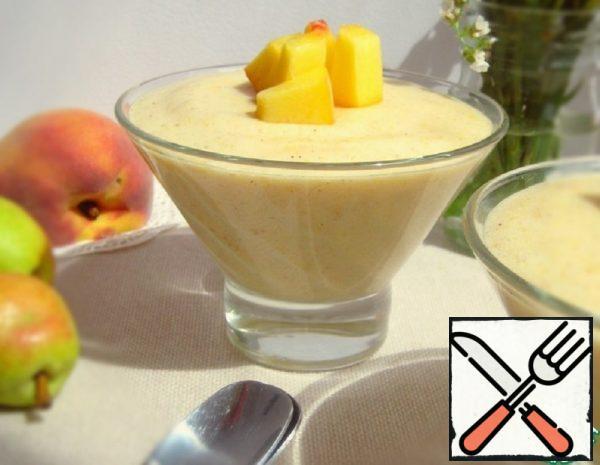 Peach and Pear Sambuk Recipe