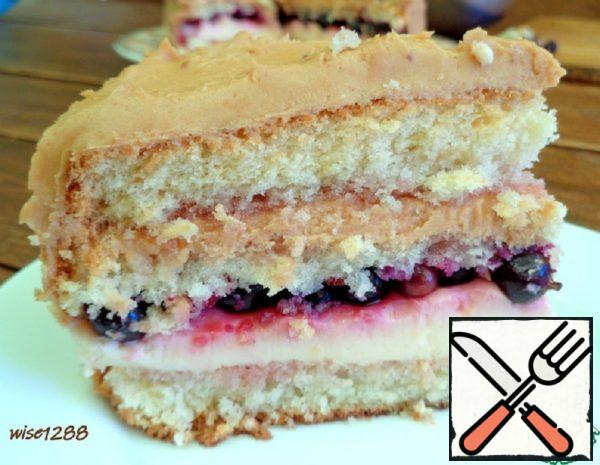 Cake with Black Currant Recipe
