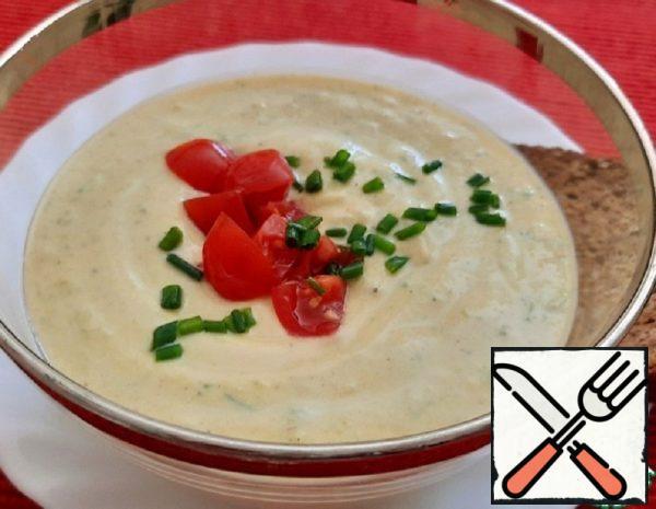 Cold Zucchini Soup Recipe