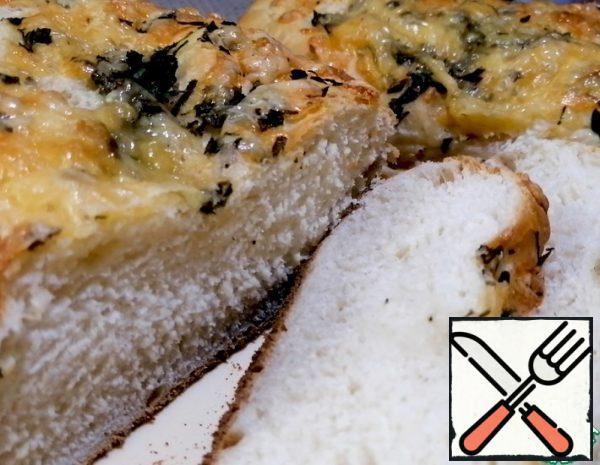 Loaf with Cheese, Garlic and Herbs Recipe