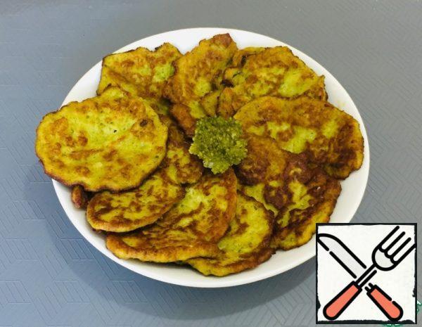Pancakes of Broccoli Recipe