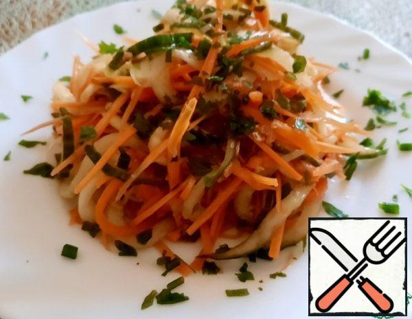 Asian-Style Carrot and Cucumber Salad Recipe