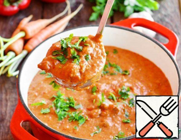 Beef in Vegetable Sauce Recipe