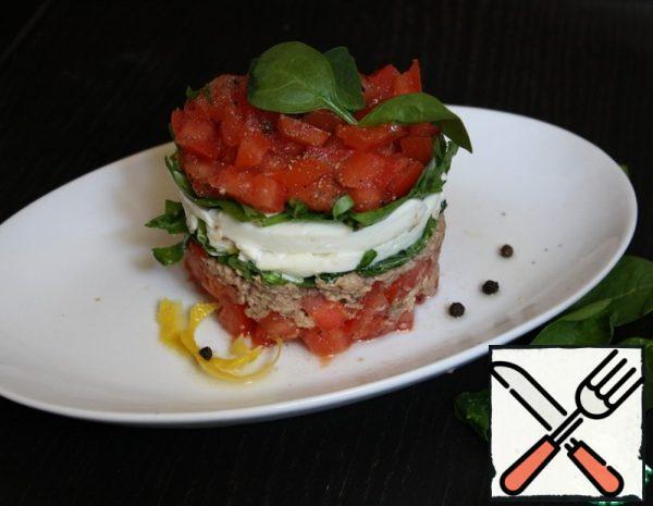 Tuna and Basil Salad Recipe