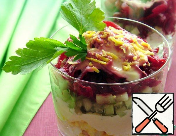 Crab Salad with Beetroot Recipe