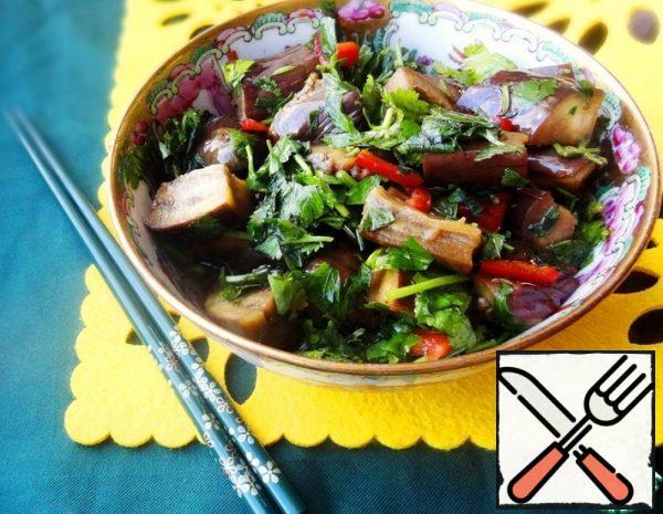 Instant pickled Eggplant Recipe