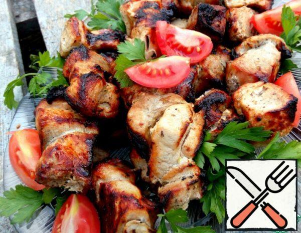 Shish Kebab in Mustard and Beer marinade Recipe