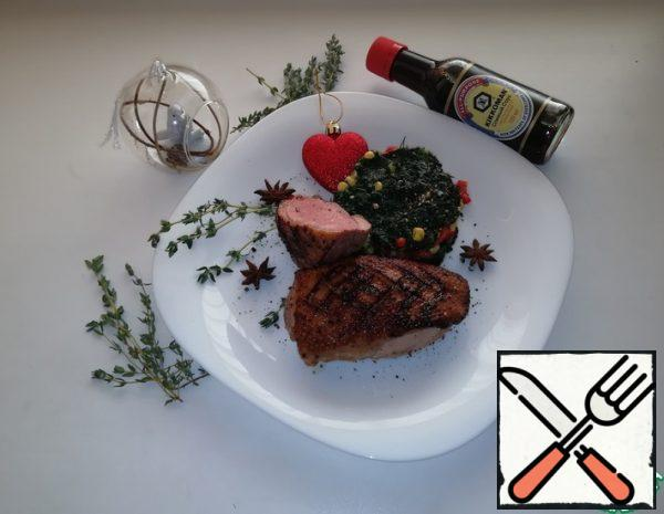 Duck Breasts with Soy Marinade Recipe