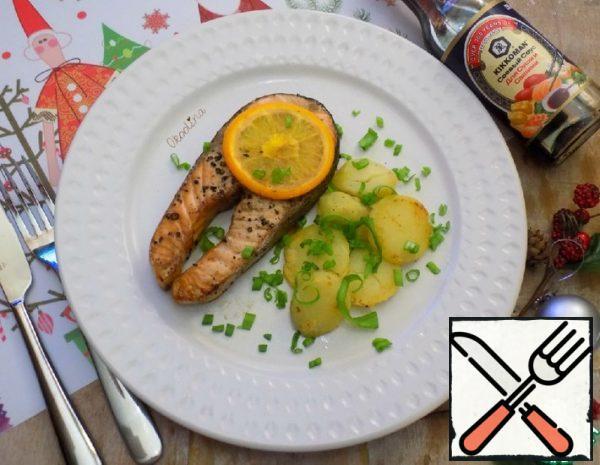 Grilled Salmon with Orange Recipe
