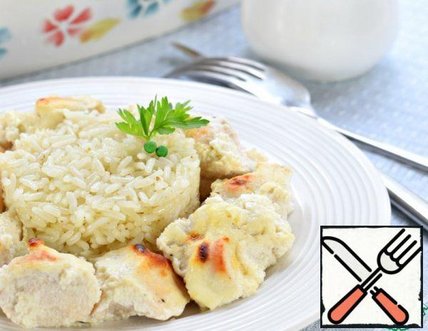 Chicken Fillet in Sour Cream Recipe
