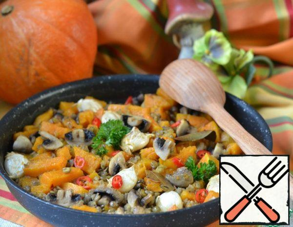 Pumpkin and Lentil stew Recipe