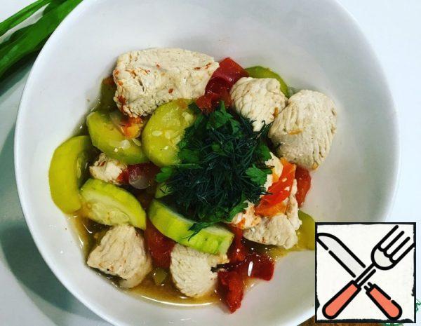 Turkey stew with Vegetables Recipe