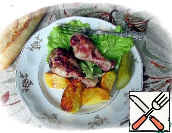 Chicken in Cranberry Sauce Recipe