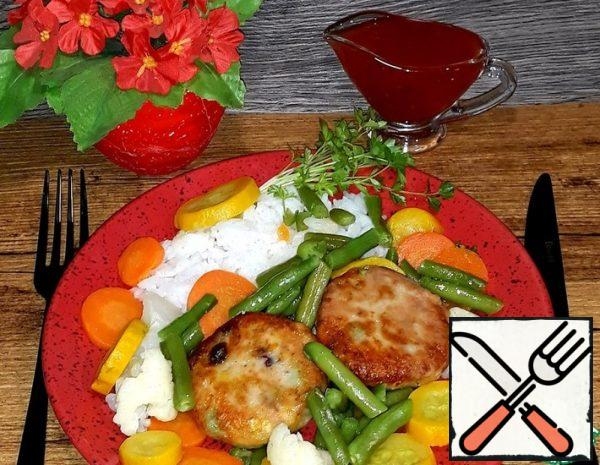 Cutlets with Salmon and Vegetables Recipe