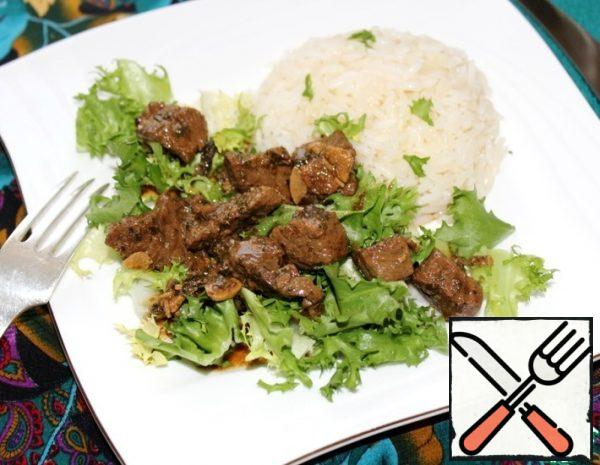 Beef in a spicy Sauce Recipe