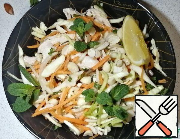 Vietnamese Salad with Chicken and Peanuts Recipe