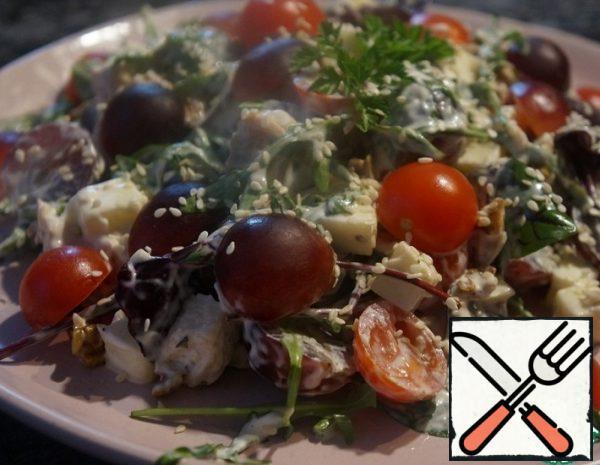 Chicken and Grape Salad Recipe