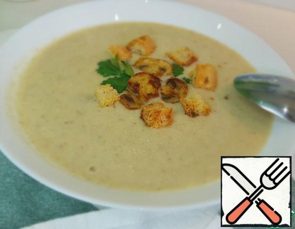 Cream-Soup with Champignons Recipe