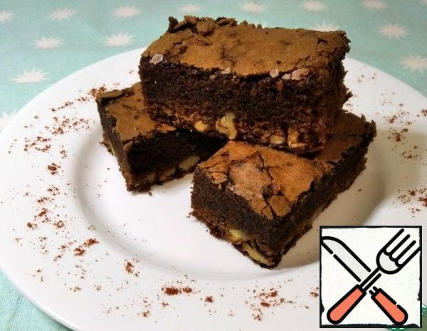 Chocolate Brownie with Nuts Recipe