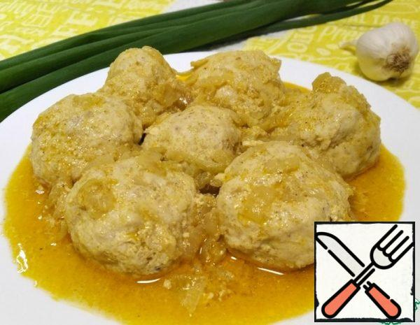 Meatballs with Curry and Cinnamon Recipe