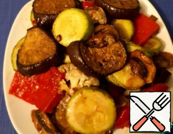 Grilled Vegetables at Home Reecipe