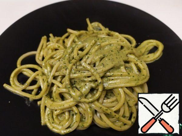Pasta with Pesto Sauce Recipe