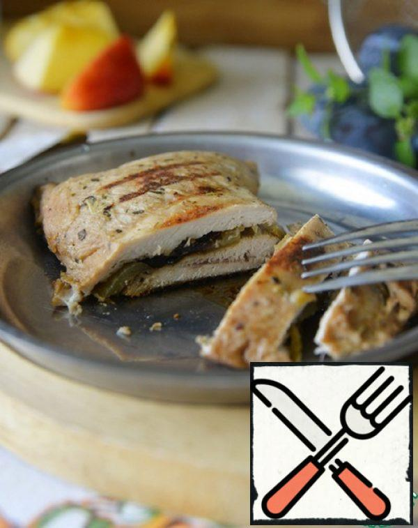 Turkey Breast with Apples and Prunes Recipe