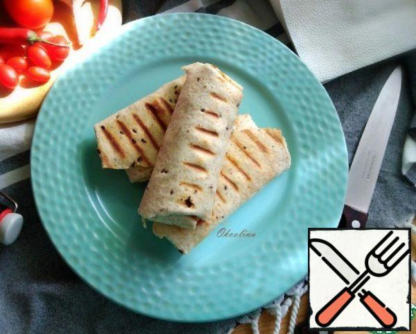 Grilled Turkey Breast Burrito Recipe