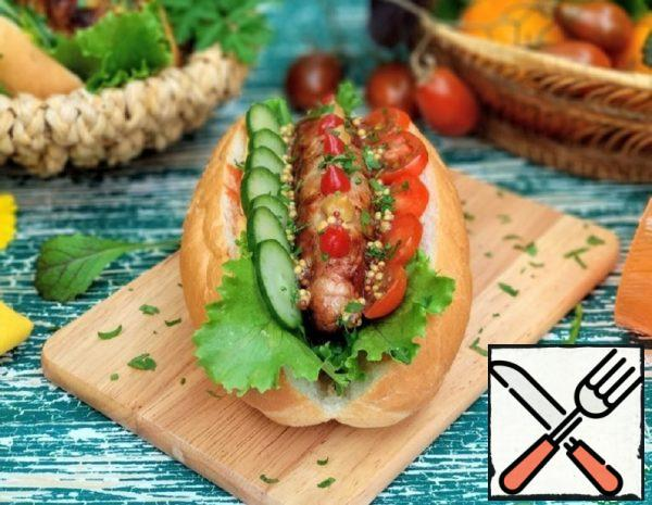 "Hot Dog ""Boyarsky"" Recipe"