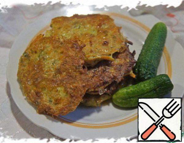 Zucchini and Sweet Potato Pancakes Recipe