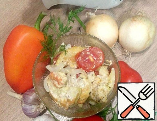 Vegetable Casserole with Turkey Breast Recipe