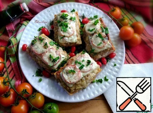 Hot Turkey Mince Sandwiches Recipe