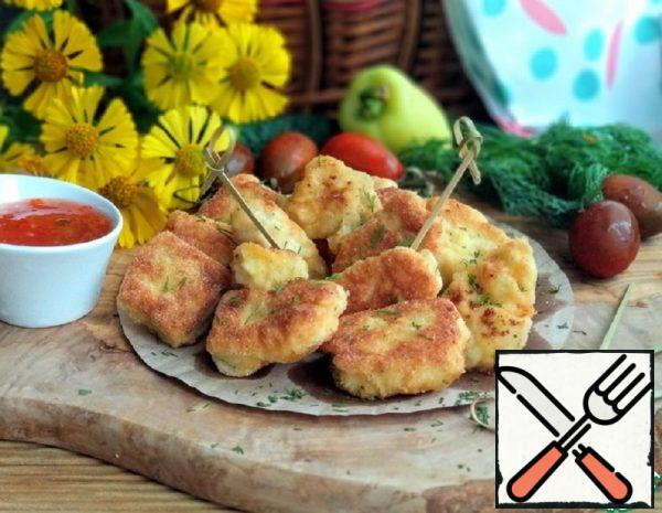 Turkey Nuggets with Cheese Recipe