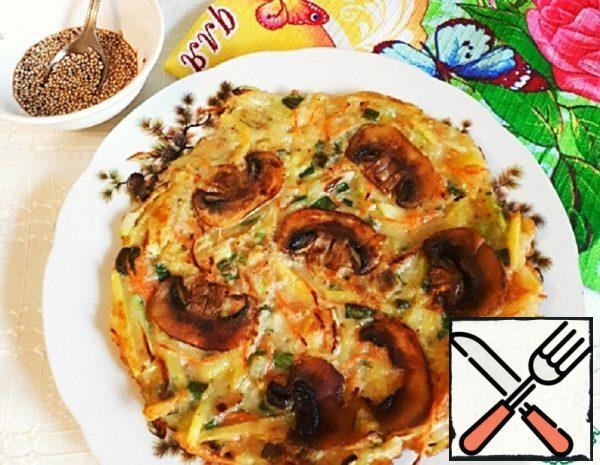 Vegetable Pancake Recipe