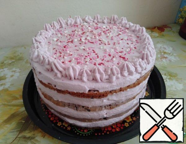 "Cake ""Black Prince"" Recipe"