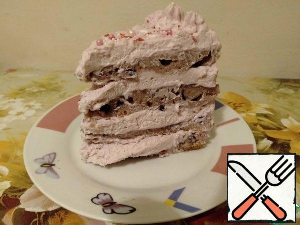 """Cake """"Black Prince"""" can be prepared both for a holiday and on weekdays to please your loved ones - in a simpler version (without complex creams). And it always turns out delicious.)))"""