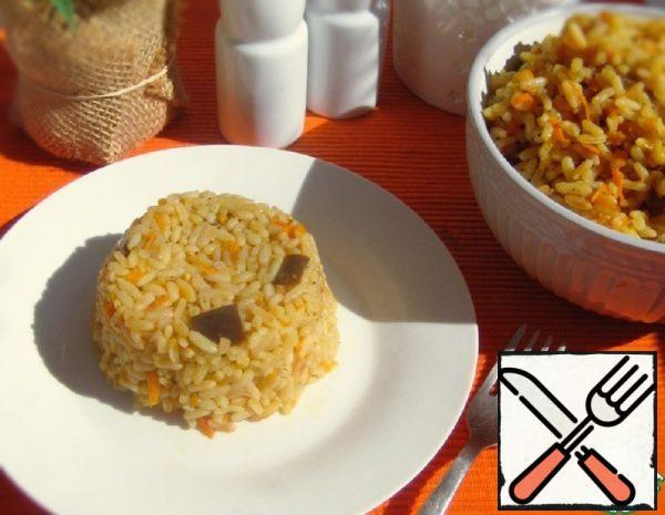 Rice with Eggplant Recipe