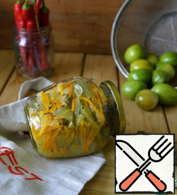 Spicy Green Tomato Salad Recipe