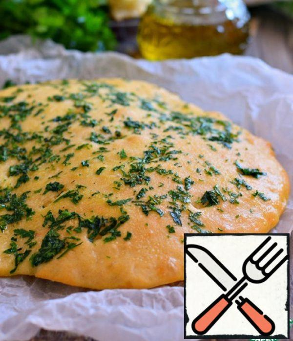 Simple Yeast Tortillas with Herbs Recipe