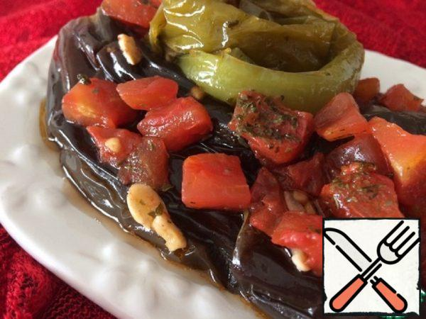 Eggplant Stewed Whole in Tomatoes Recipe